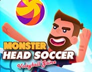 Monster Head Soccer Volleyball