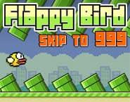 Flappy Bird: Skip to 999