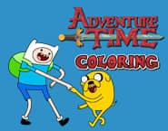 Adventure Time Kleurplaten