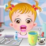 Baby Hazel: Tandarts