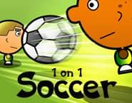 1 tegen 1 Voetbal