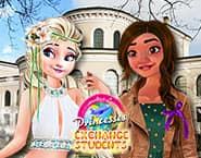 Elsa en Vaiana op Uitwisseling