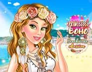 Prinsessen Strandkleding Modeshow