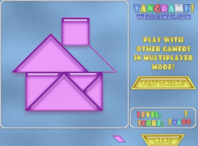 tangram puzzel  gratis online spel  funnygames
