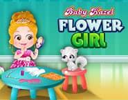 Baby Hazel: Bloemenmeisje